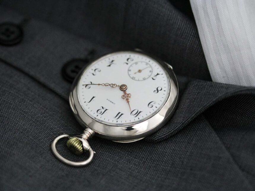 オメガのアンティーク懐中時計-P2243-6