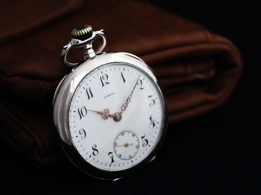 オメガのアンティーク懐中時計-P2243-7