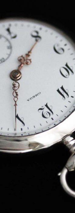 オメガのアンティーク懐中時計-P2243-8