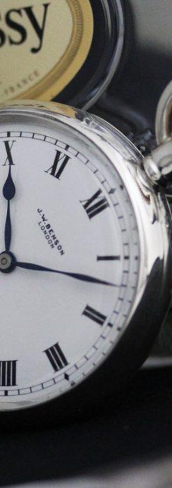 ベンソンのアンティーク懐中時計-P2244-1