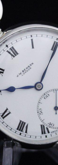 ベンソンのアンティーク懐中時計-P2244-11