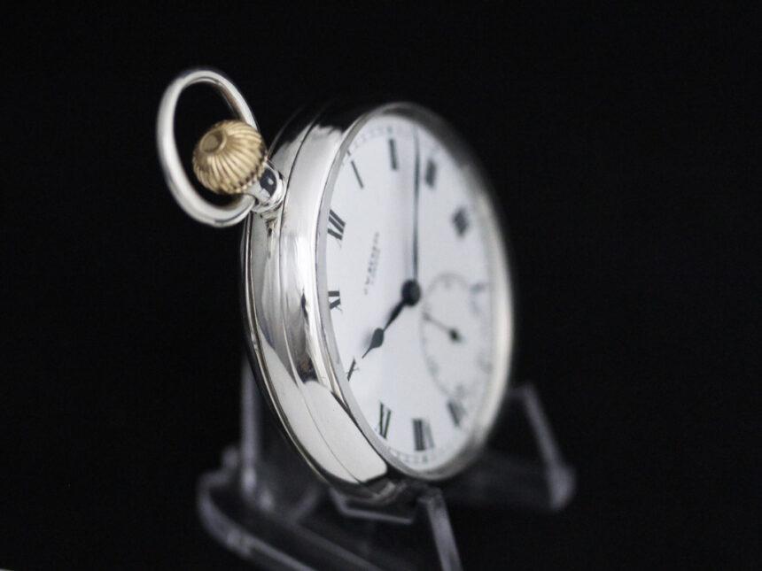 ベンソンのアンティーク懐中時計-P2244-12