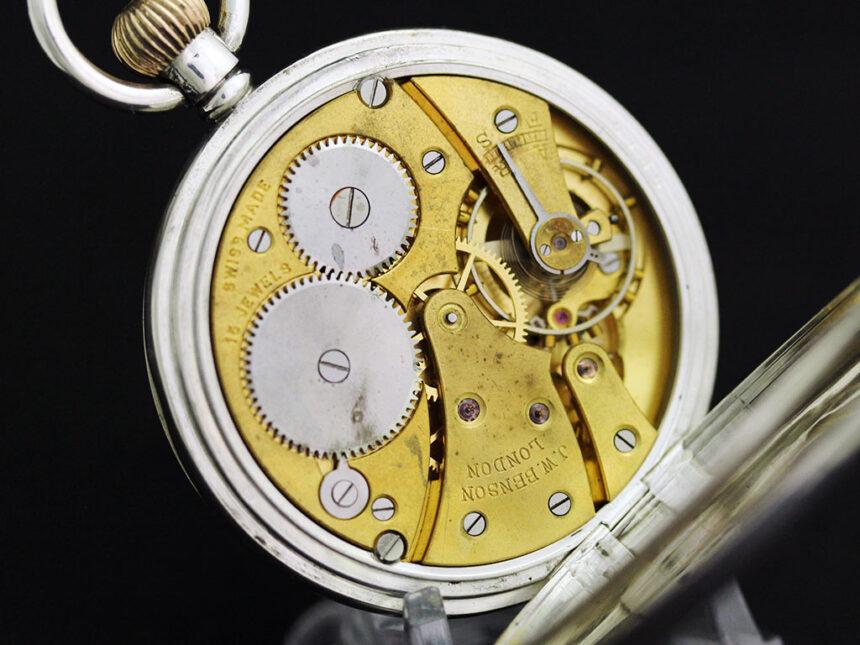 ベンソンのアンティーク懐中時計-P2244-17