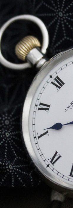 ベンソンのアンティーク懐中時計-P2244-3