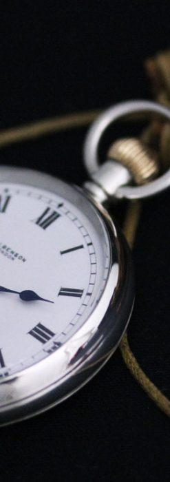 ベンソンのアンティーク懐中時計-P2244-4