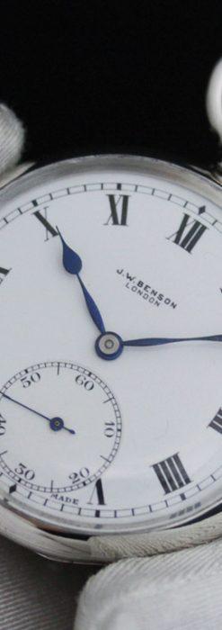 ベンソンのアンティーク懐中時計-P2244-5