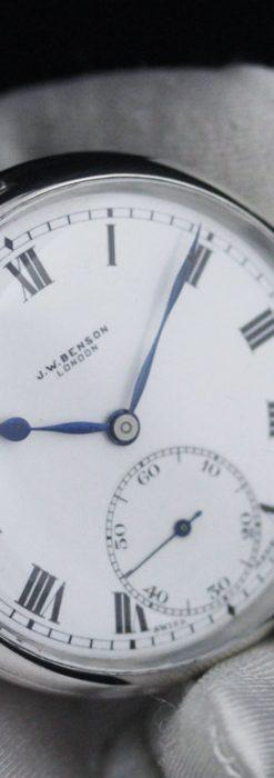 ベンソンのアンティーク懐中時計-P2244-6