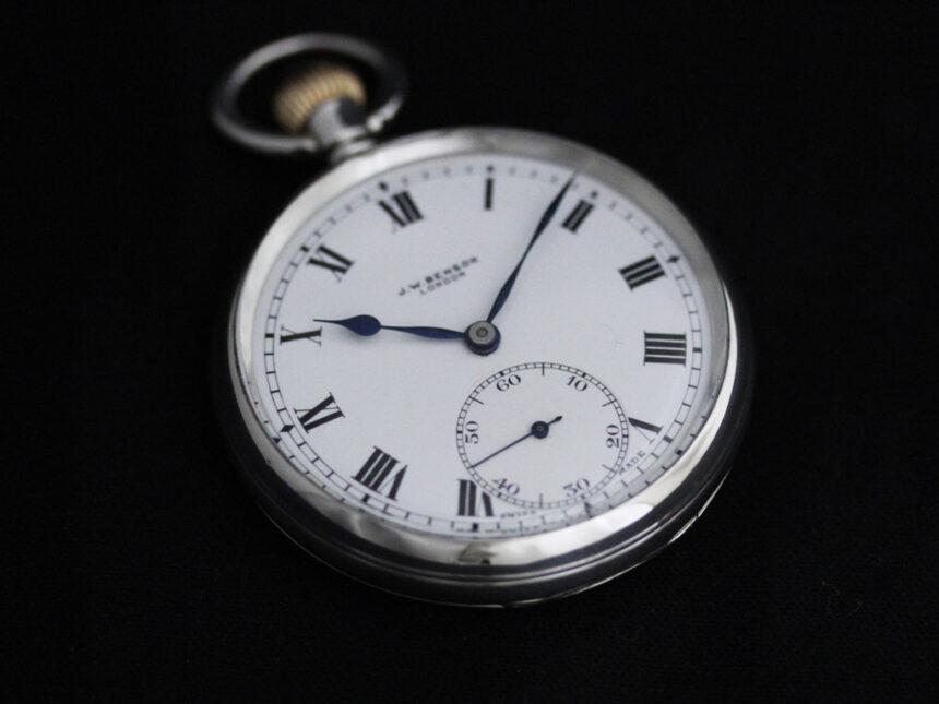 ベンソンのアンティーク懐中時計-P2244-8