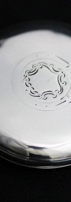ベンソンのアンティーク懐中時計-P2244-9