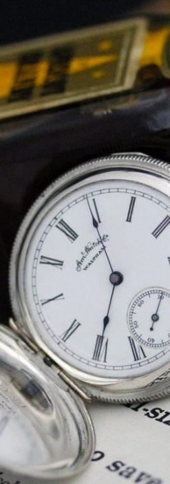 ウォルサムのアンティーク懐中時計-P2245-1