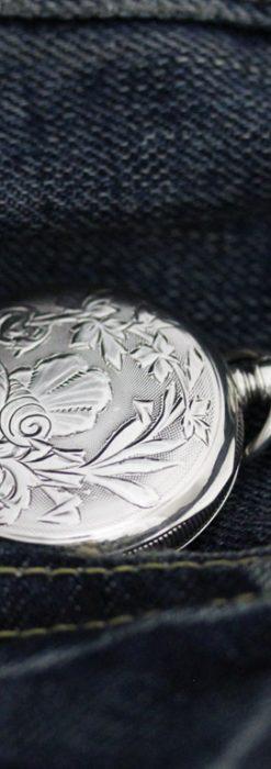 ウォルサムのアンティーク懐中時計-P2245-2