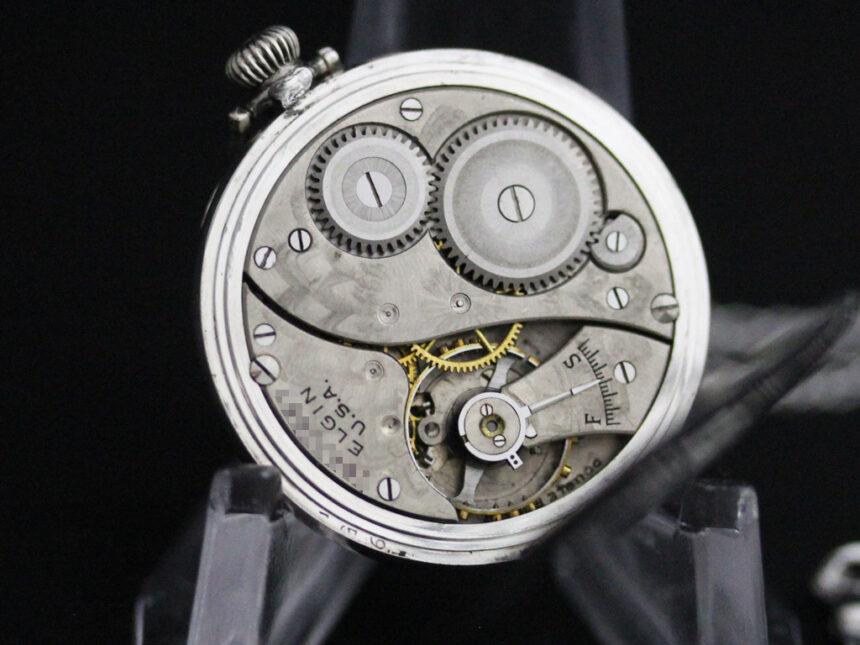エルジンのアンティーク懐中時計-P2246-13