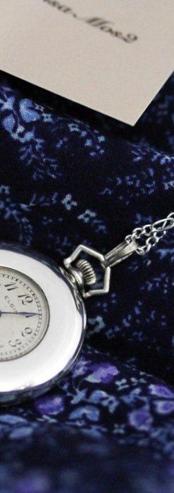 エルジンのアンティーク懐中時計-P2246-2