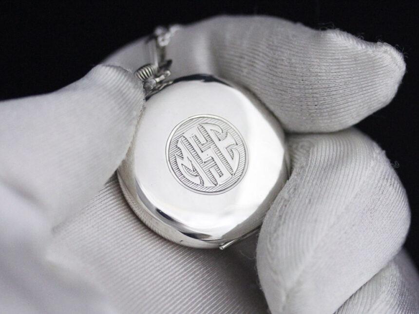 エルジンのアンティーク懐中時計-P2246-3