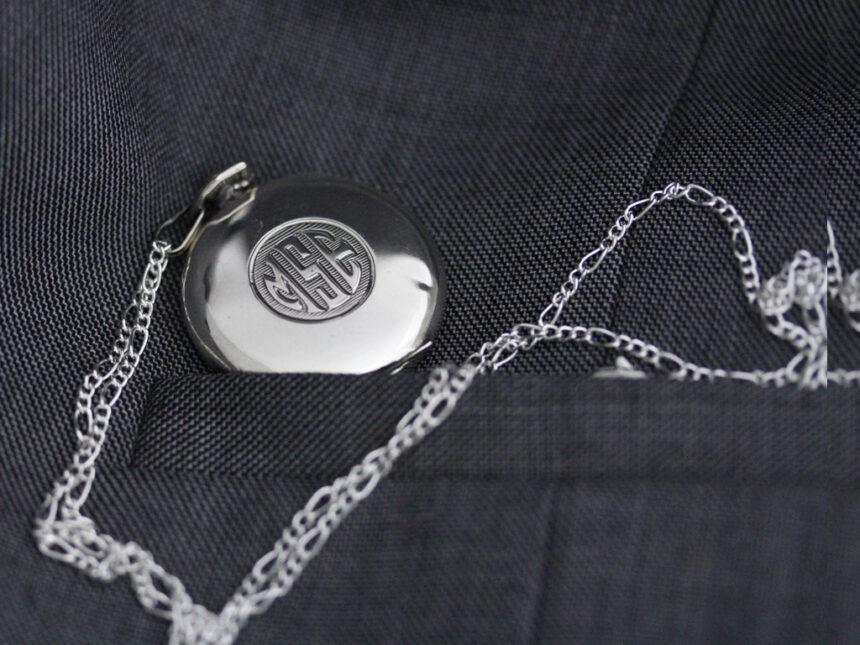 エルジンのアンティーク懐中時計-P2246-5