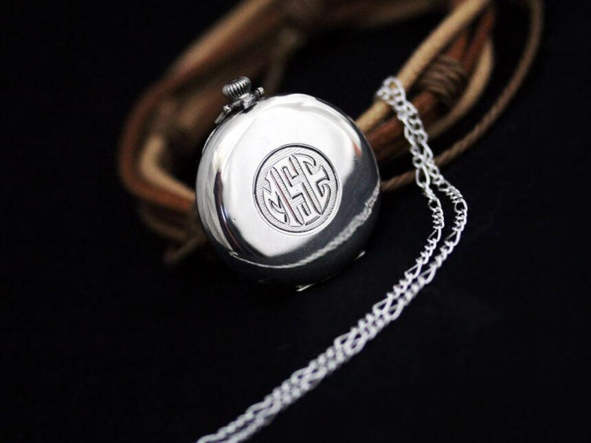 エルジンのアンティーク懐中時計-P2246-7