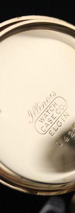 ウォルサムの金無垢アンティーク懐中時計-P2247-19