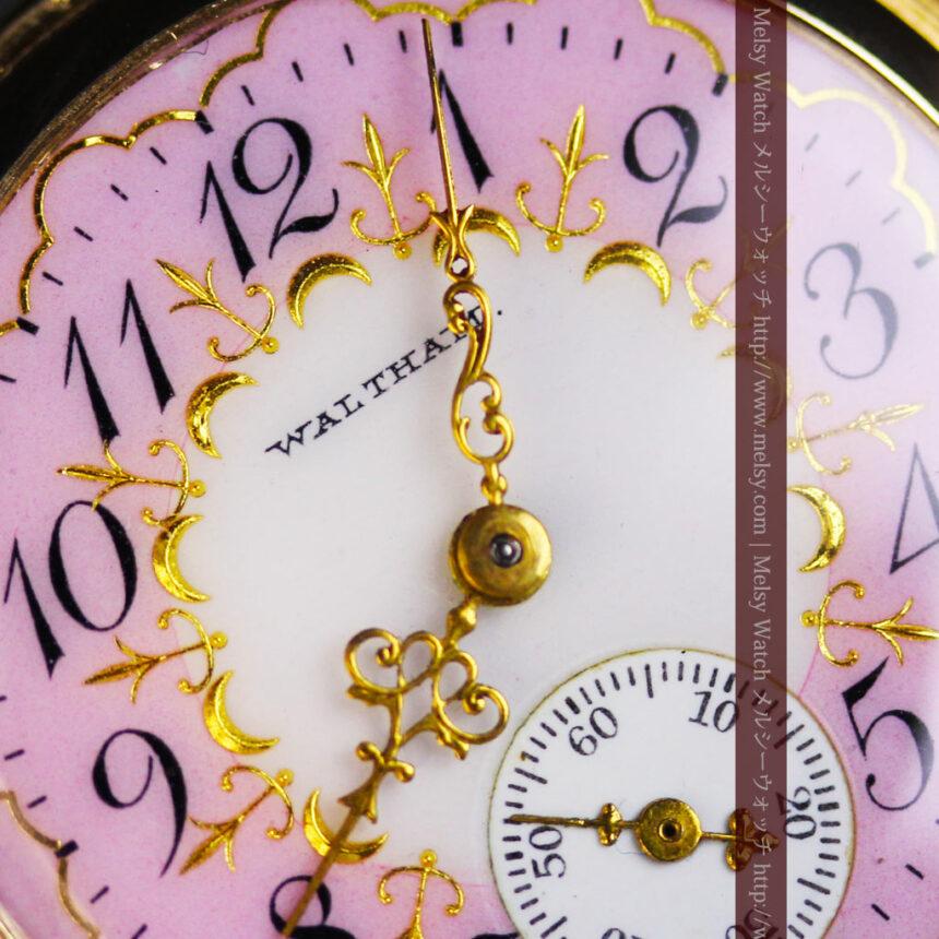 ウォルサムの金無垢アンティーク懐中時計-P2247-3