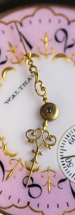 ウォルサムの金無垢アンティーク懐中時計-P2247-6