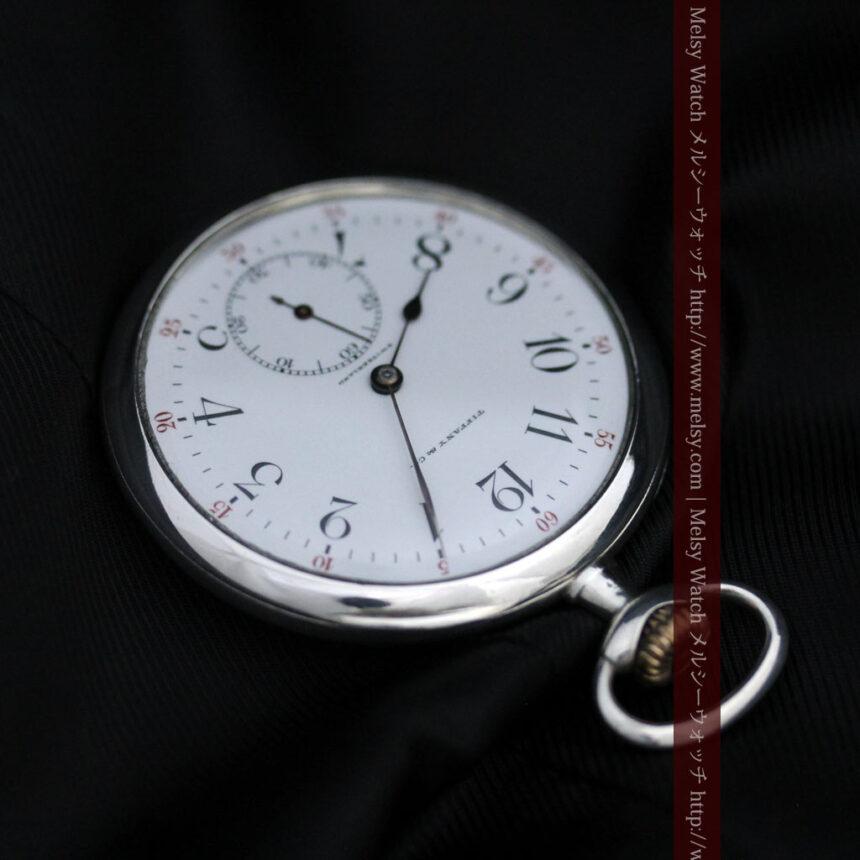 ティファニー&ロンジンのアンティーク懐中時計-P2249-15