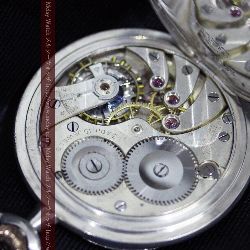 ティファニー&ロンジンのアンティーク懐中時計-P2249-20