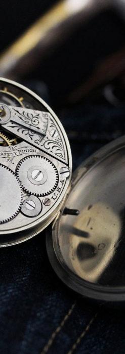 エルジンの素朴さが魅力のアンティーク懐中時計 【1904年製】-P2256-15