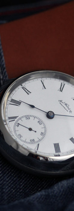 ウォルサムの存在感抜群の大きなアンティーク懐中時計 【1904年製】-P2257-2
