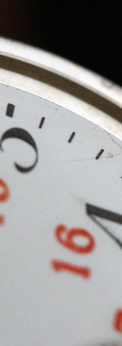 オメガの24時間表示の銀無垢アンティーク懐中時計 【1915年製】-P2259-15