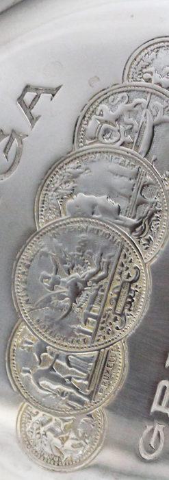 オメガの風格ある銀無垢アンティーク懐中時計 【1907年製】-P2260-14