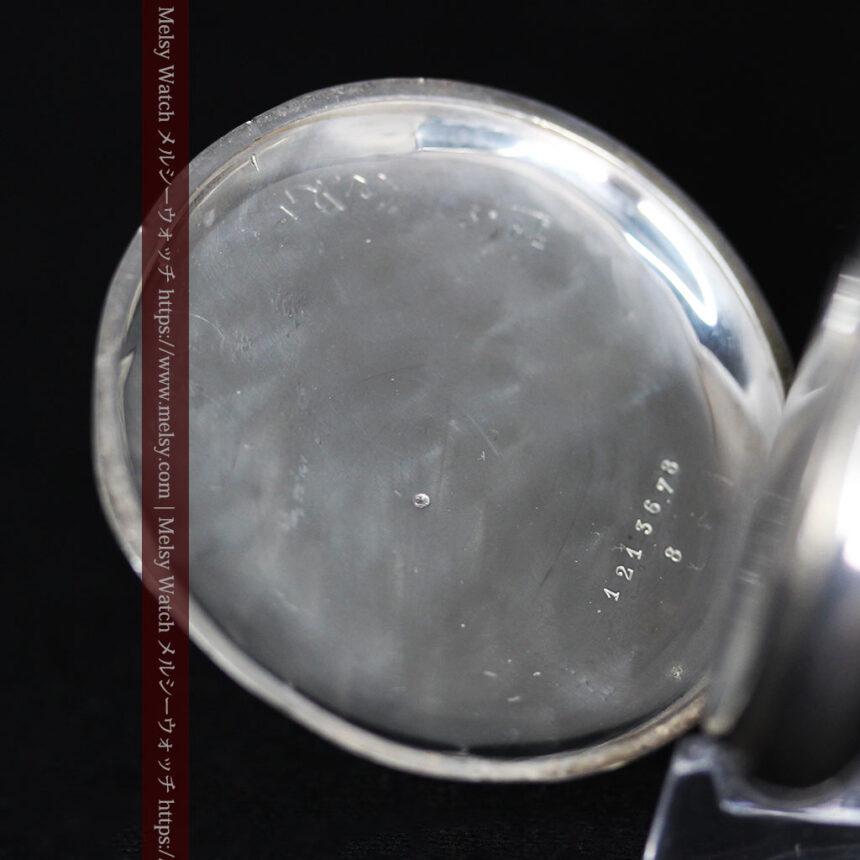 オメガの3世紀を繋ぐ銀無垢アンティーク懐中時計 【1896年製】-P2261-12