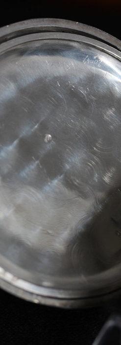 オメガの3世紀を繋ぐ銀無垢アンティーク懐中時計 【1896年製】-P2261-14