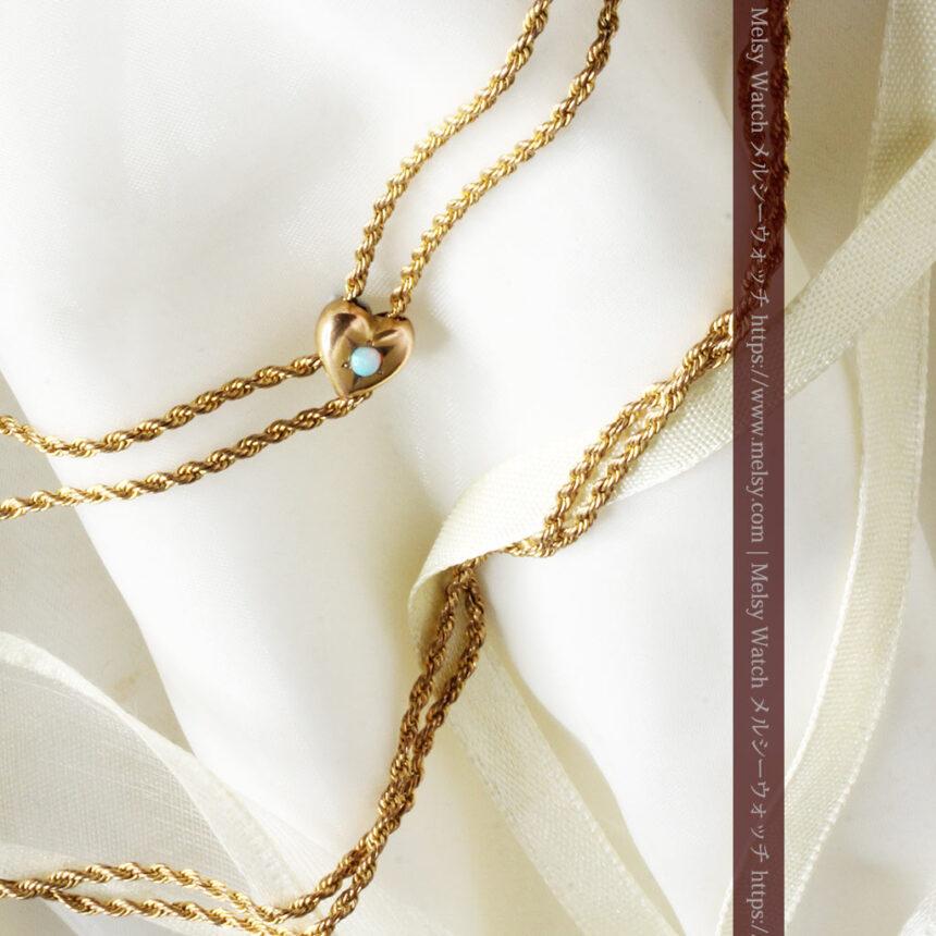 ティファニーの18金無垢アンティーク時計 懐中時計ネックレス兼腕時計 【1905年製】-P2262-10