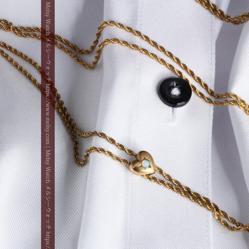 ティファニーの18金無垢アンティーク時計 懐中時計ネックレス兼腕時計 【1905年製】-P2262-17