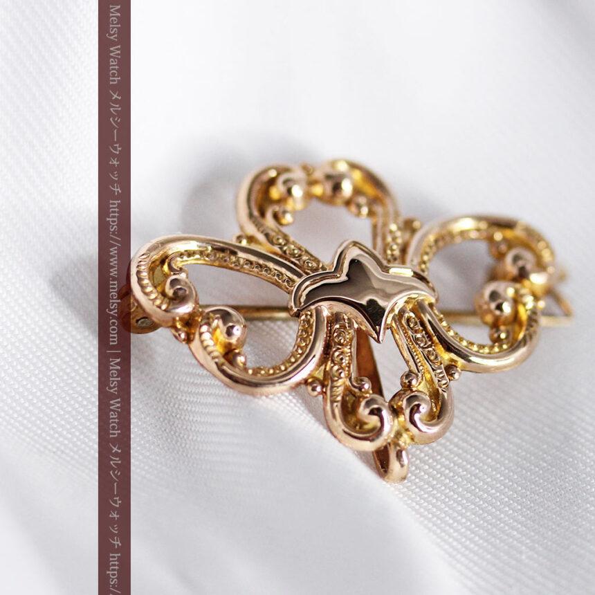 ティファニーの18金無垢アンティーク時計 懐中時計ネックレス兼腕時計 【1905年製】-P2262-24