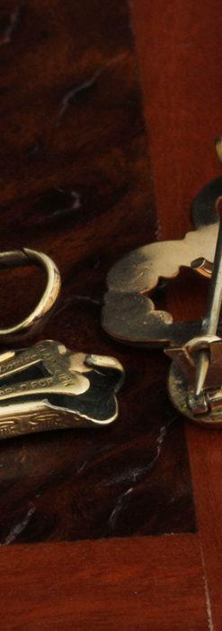 ティファニーの18金無垢アンティーク時計 懐中時計ネックレス兼腕時計 【1905年製】-P2262-26
