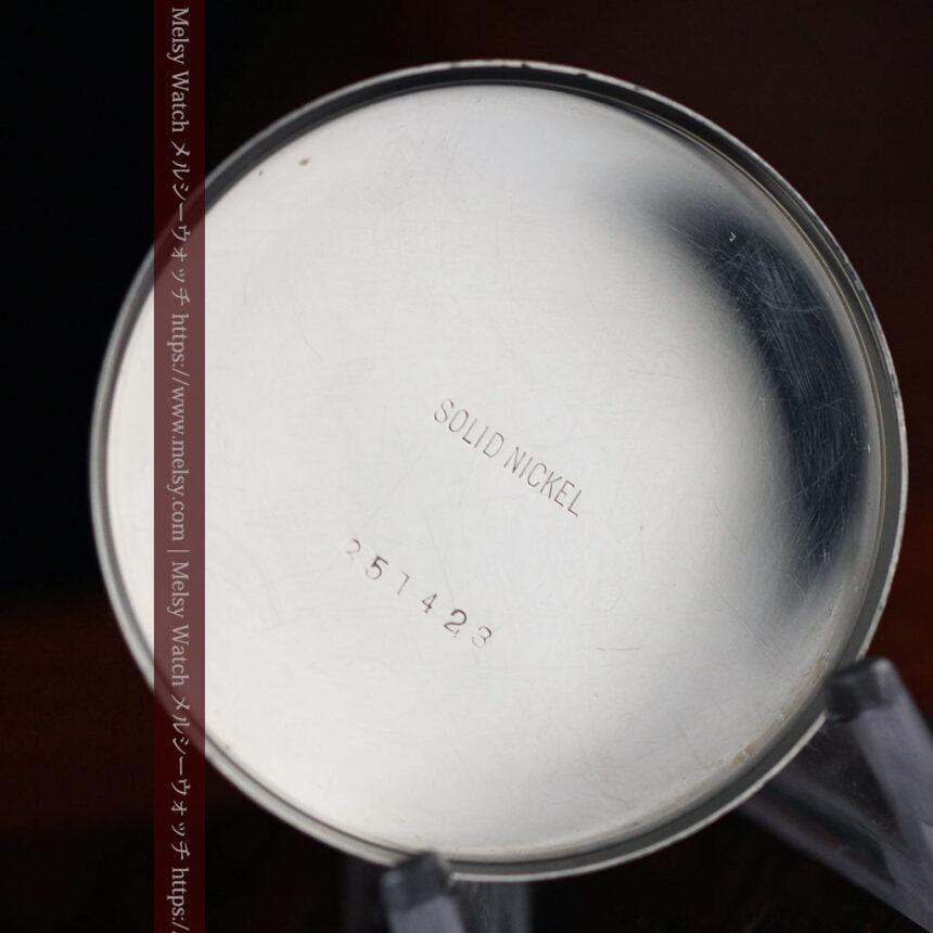 ロレックスの彫りと雰囲気の良い金無垢アンティーク懐中時計【1923年頃】-P2264-23