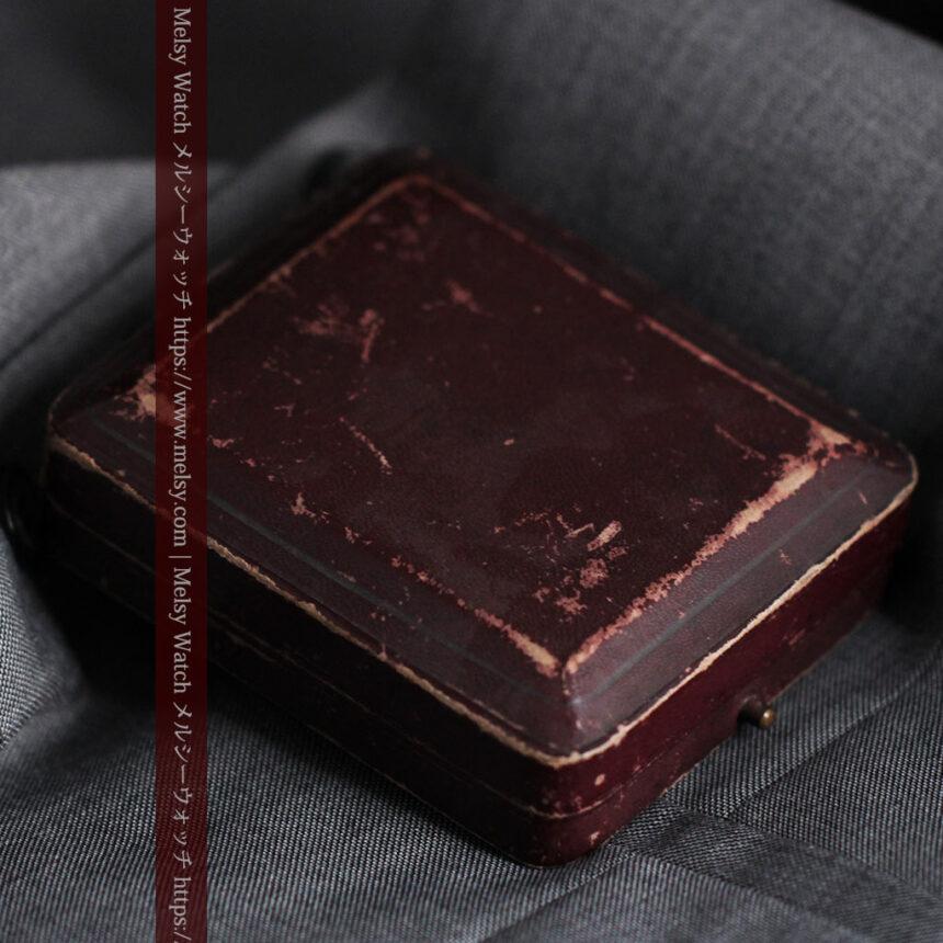 ロレックスの彫りと雰囲気の良い金無垢アンティーク懐中時計【1923年頃】-P2264-27