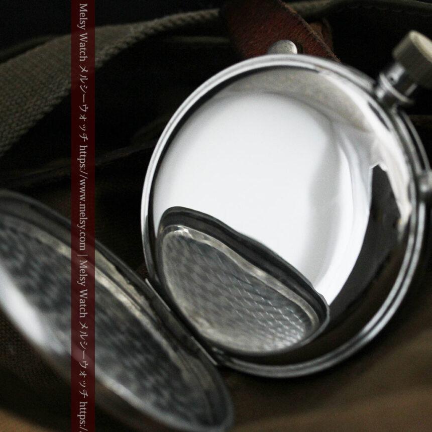 英国ロンドン・スミスのアンティーク特大ストップウォッチ【1920年頃】箱付き-P2266-15