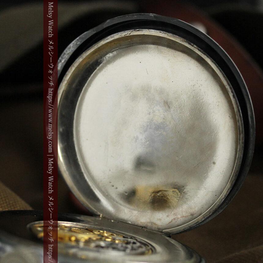 英国ロンドン・スミスのアンティーク特大ストップウォッチ【1920年頃】箱付き-P2266-17