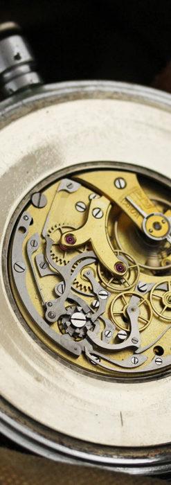英国ロンドン・スミスのアンティーク特大ストップウォッチ【1920年頃】箱付き-P2266-18