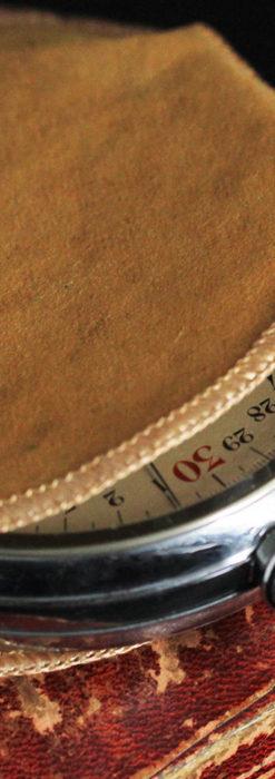 英国ロンドン・スミスのアンティーク特大ストップウォッチ【1920年頃】箱付き-P2266-20