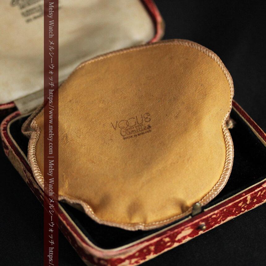 英国ロンドン・スミスのアンティーク特大ストップウォッチ【1920年頃】箱付き-P2266-24