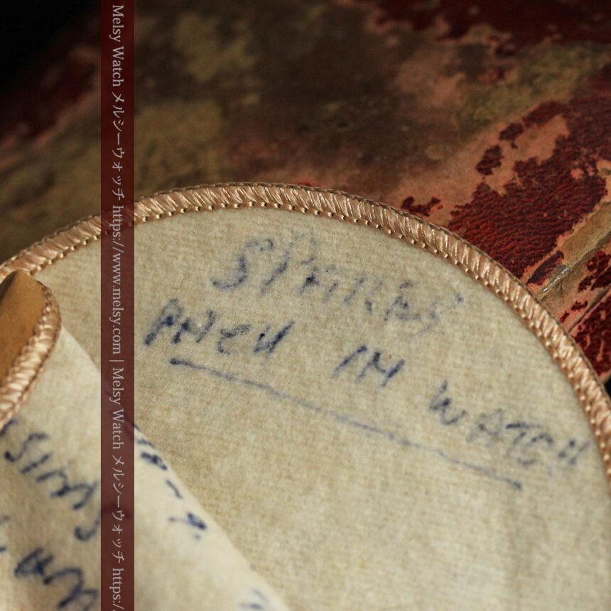 英国ロンドン・スミスのアンティーク特大ストップウォッチ【1920年頃】箱付き-P2266-26