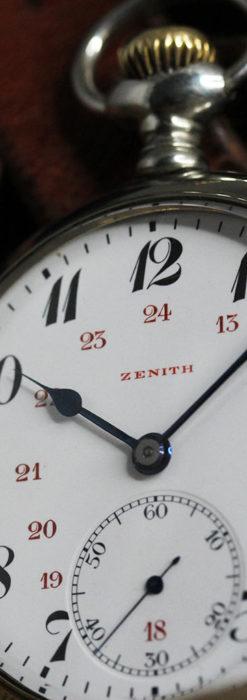 ゼニスのアンティーク懐中時計と腕時計ケース 【1910年頃】-P2269-2