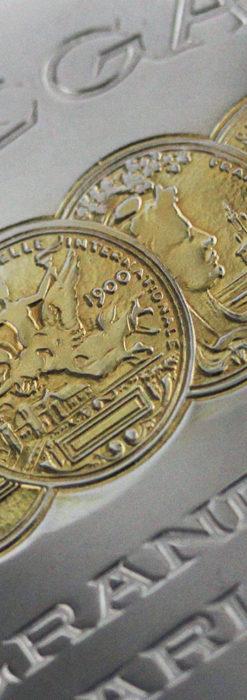 オメガの風格ある重厚な銀無垢アンティーク懐中時計 【1913年製】-P2273-15