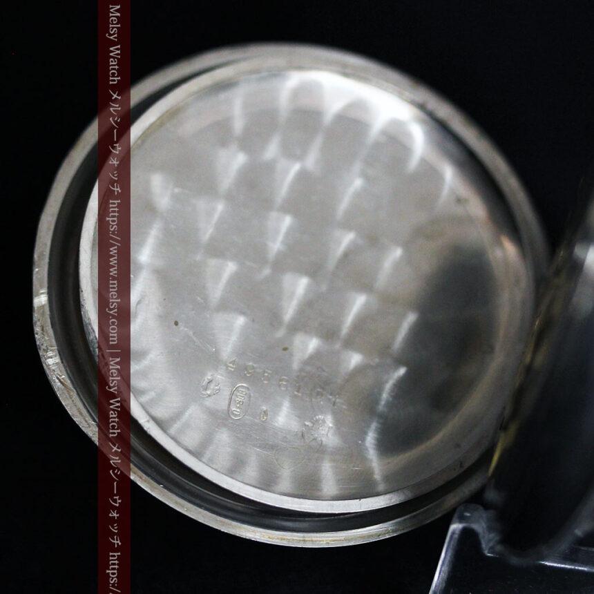 オメガの風格ある重厚な銀無垢アンティーク懐中時計 【1913年製】-P2273-18