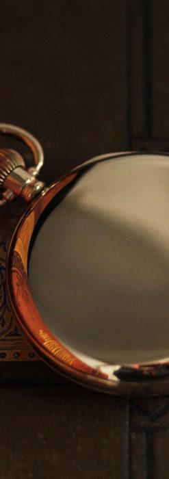 オメガの基本を押さえたアンティーク懐中時計 【1938年製】-P2275-10