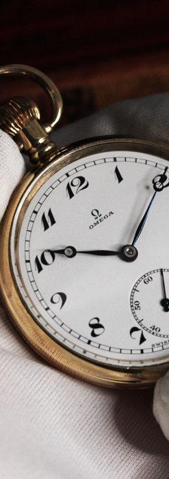 オメガの基本を押さえたアンティーク懐中時計 【1938年製】-P2275-11