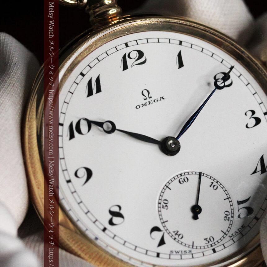 オメガの基本を押さえたアンティーク懐中時計 【1938年製】-P2275-12