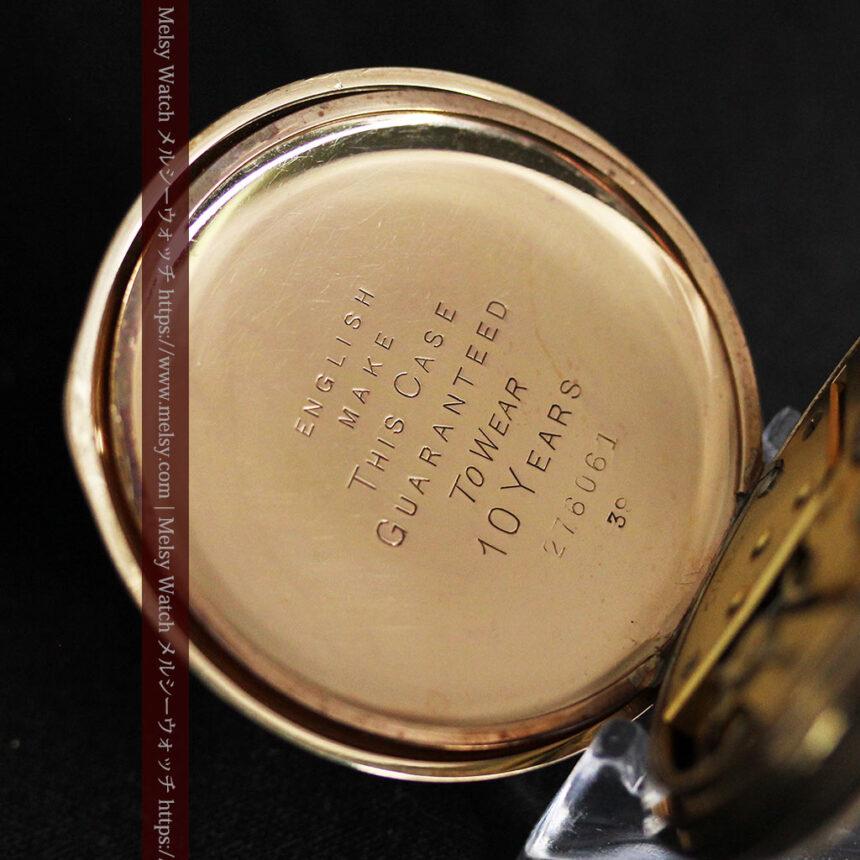 オメガの基本を押さえたアンティーク懐中時計 【1938年製】-P2275-14
